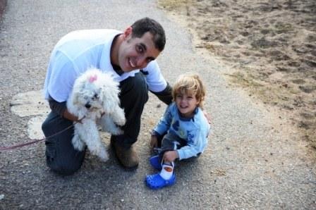 הכנת כלב לתינוק בבית