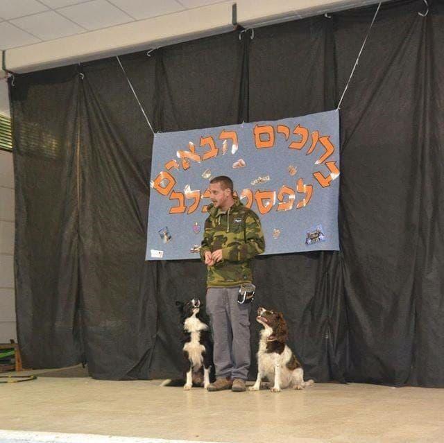 תומר רוזנטל מדברים עם כלבים