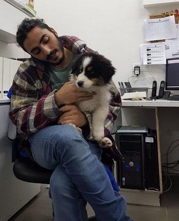 תמיר בן סעדון מדברים עם כלבים